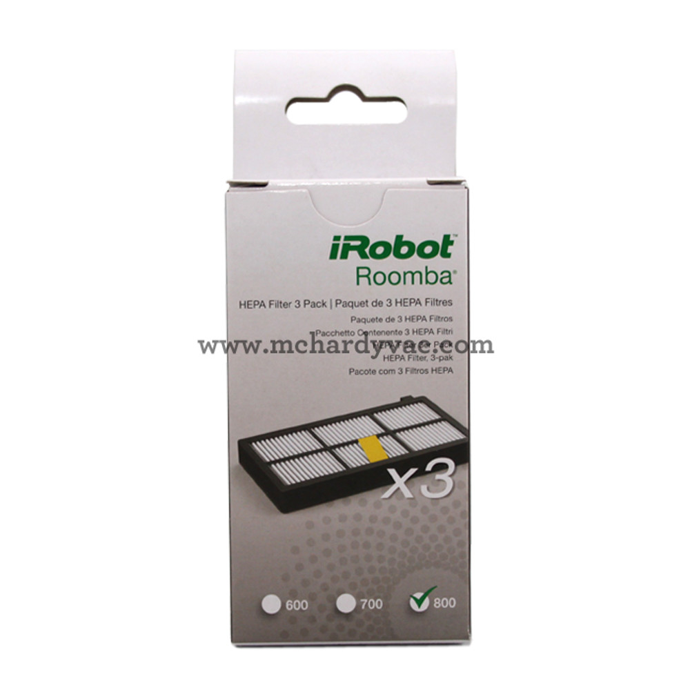 Roomba and iRobot - 885155 - 800 and 900 Filters