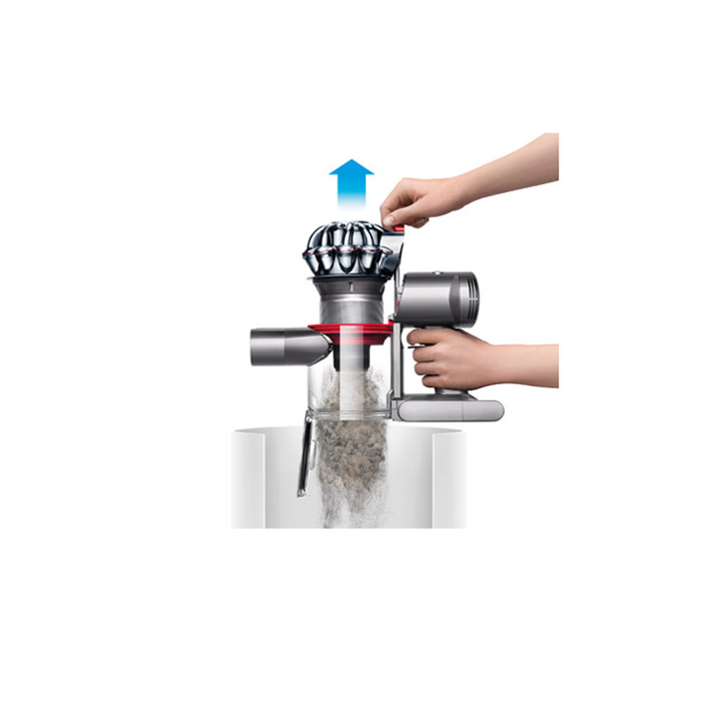 Hygienic Dirt Extractor Makes Emptying Easier