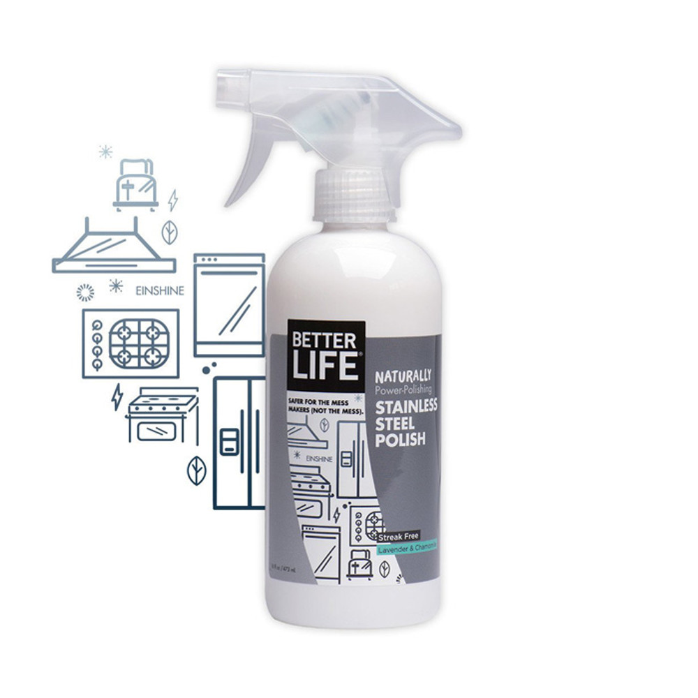 Better Life Stainless Steel Cleaner