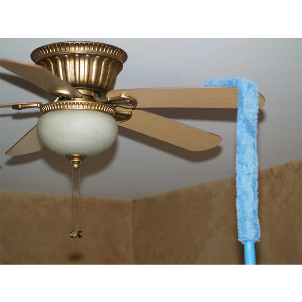 Perfect for cleaning fan blades.