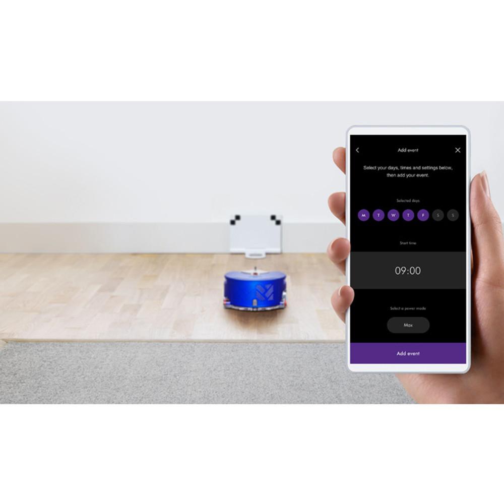 Dyson Link App Controls the 360 Heurist Robot Vacuum