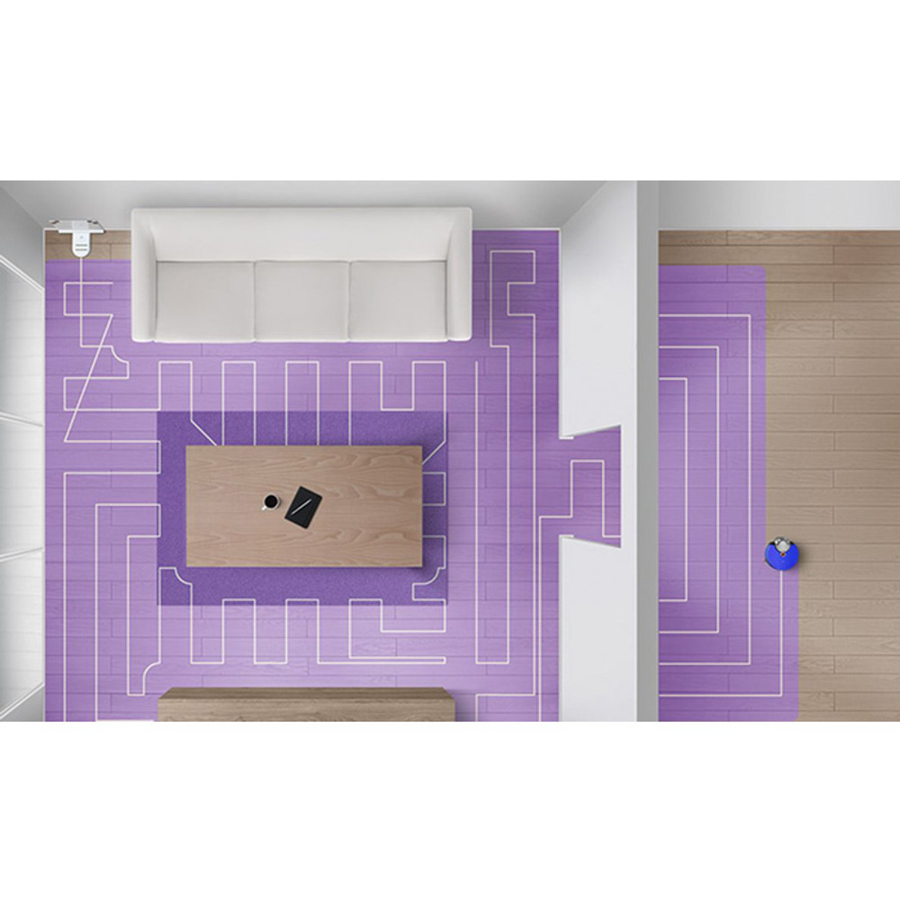 Dyson 360 Heurist Robot Vacuum Cleaner Intelligently maps rooms