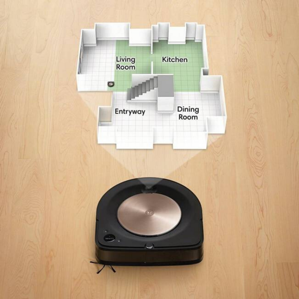 With Imprint™ Smart Mapping the iRobot s9+  learns your home for better customization