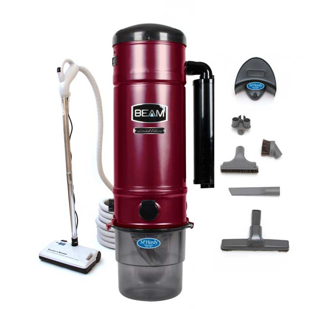 Beam 375 Special Edition Central Vacuum Deluxe Package