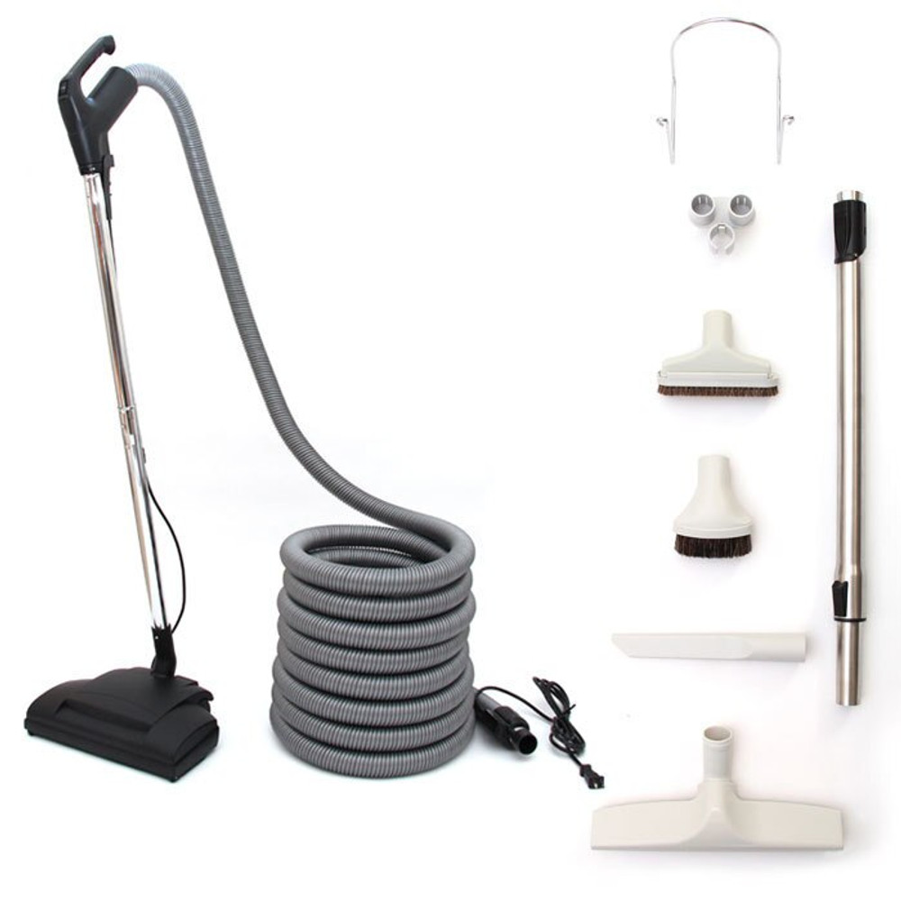 Complete attachment kit best suited for cleaning all types of carpet and any bare floor surface including hardwood and tile.