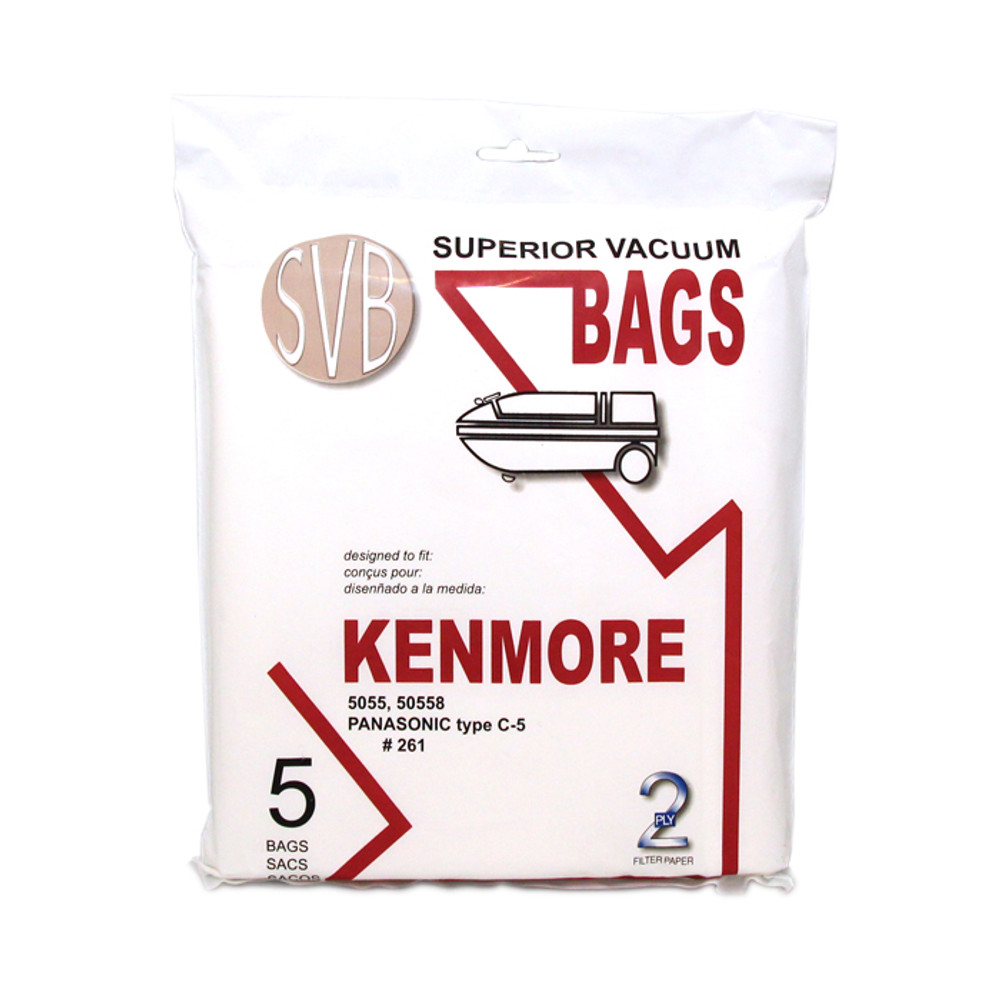 Kenmore and Panasonic Canister Vacuum Bags