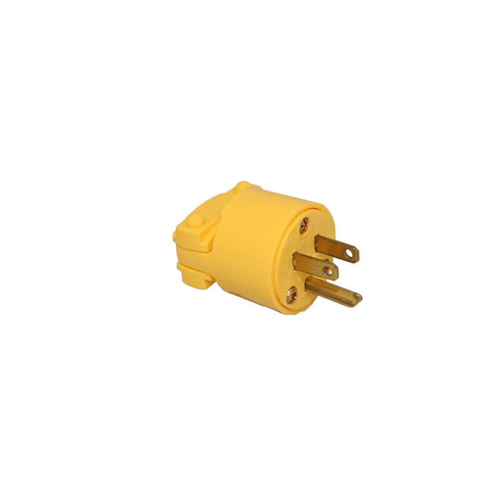 3-Prong Commercial Vacuum Cleaner Plug