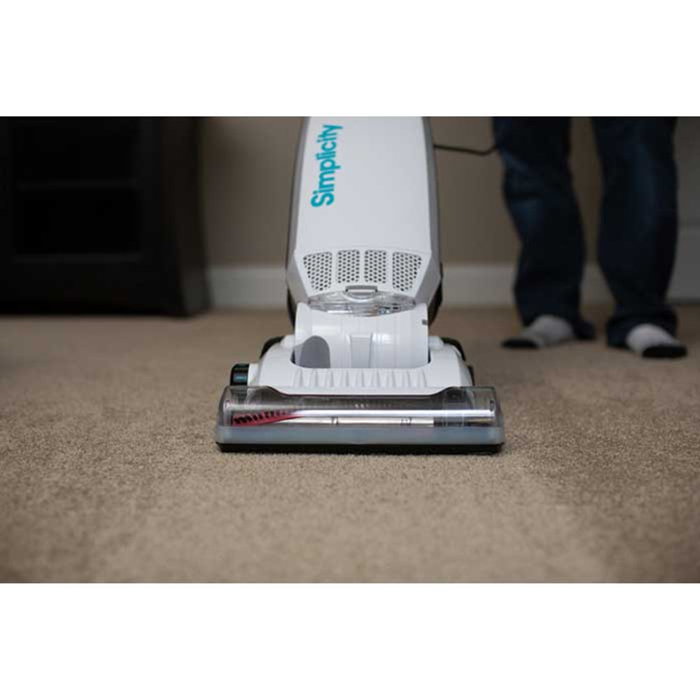 Deep clean carpet with 5 levels of height adjustment