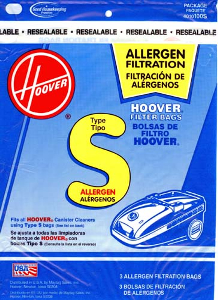Hoover Type S Allergen Vacuum Bags