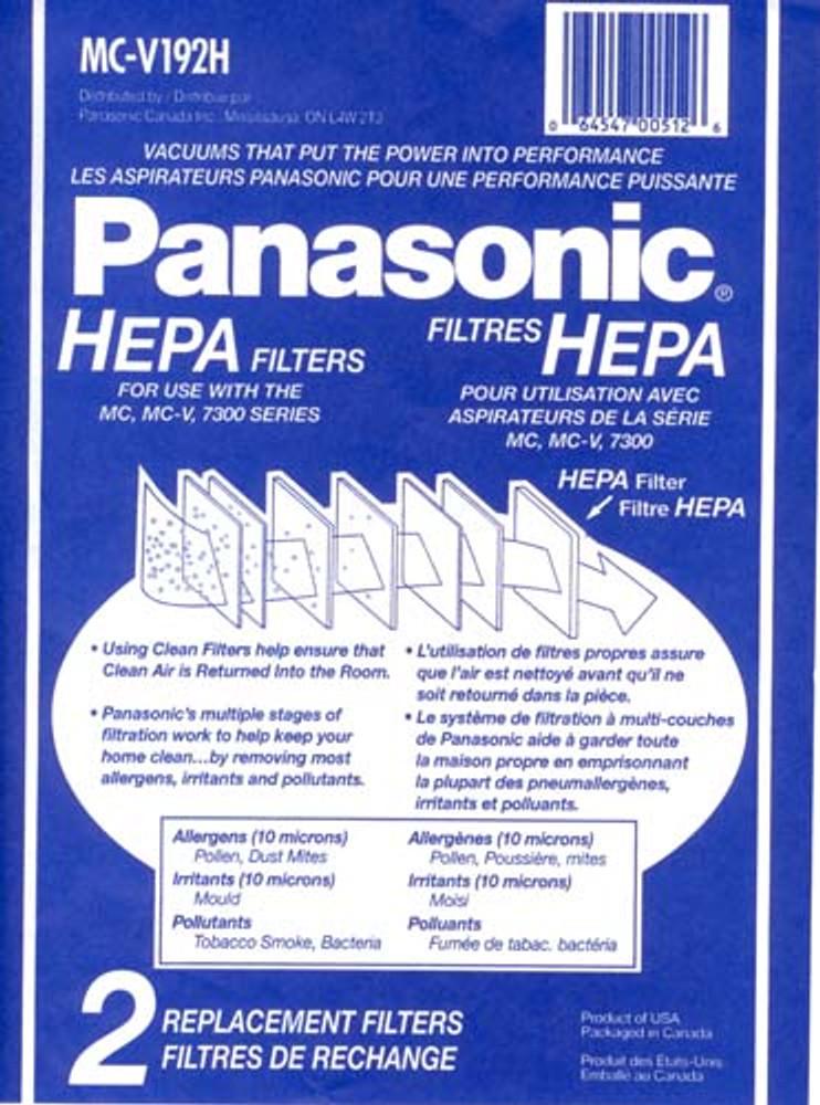 Panasonic MCV192H HEPA Filter