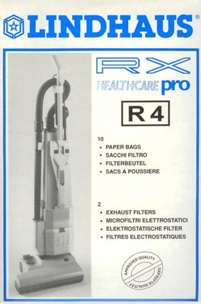Lindhaus R4 Vacuum Cleaner Bags 10pk