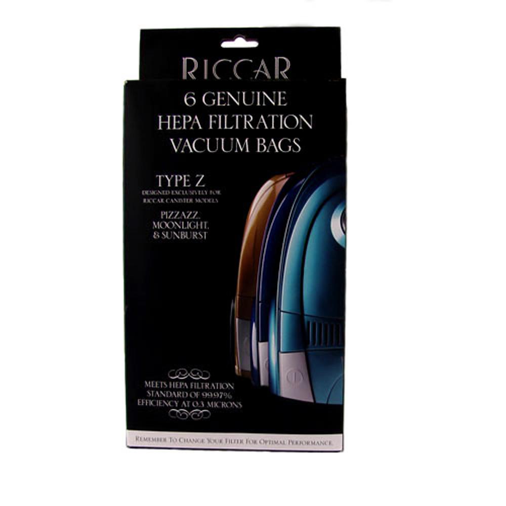 Riccar Type Z Vacuum Bags