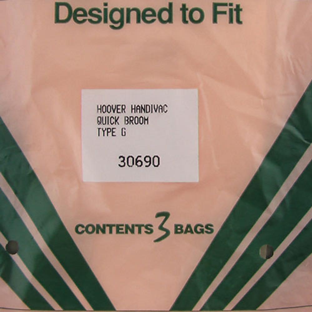 Hoover Style G Vacuum Bags 3pk