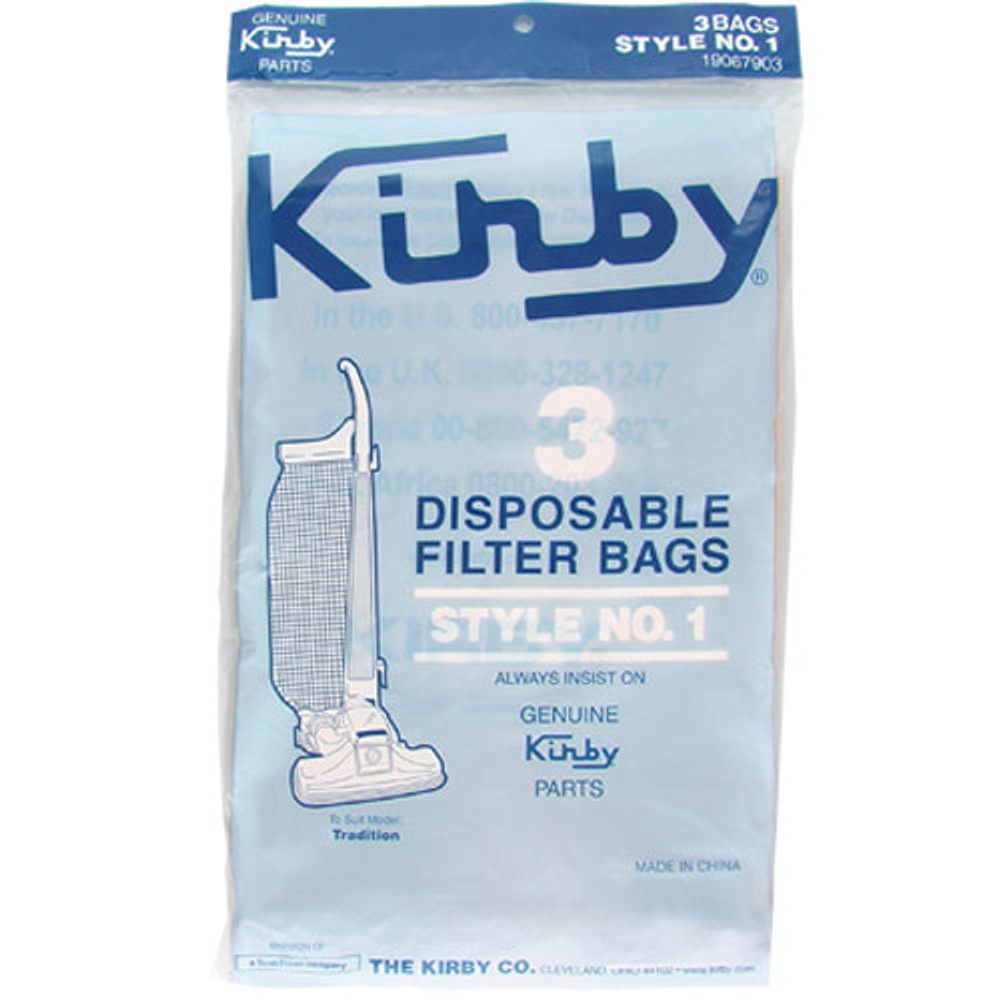 Kirby Type 1 Bags