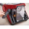 On board tool storage keeps you crevice tool and upholstery tool close by.