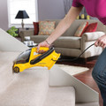 RiserVisor Cleans Carpeted Stairs
