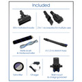 Included Accessories with AirStream TDSTICKAIR Plus