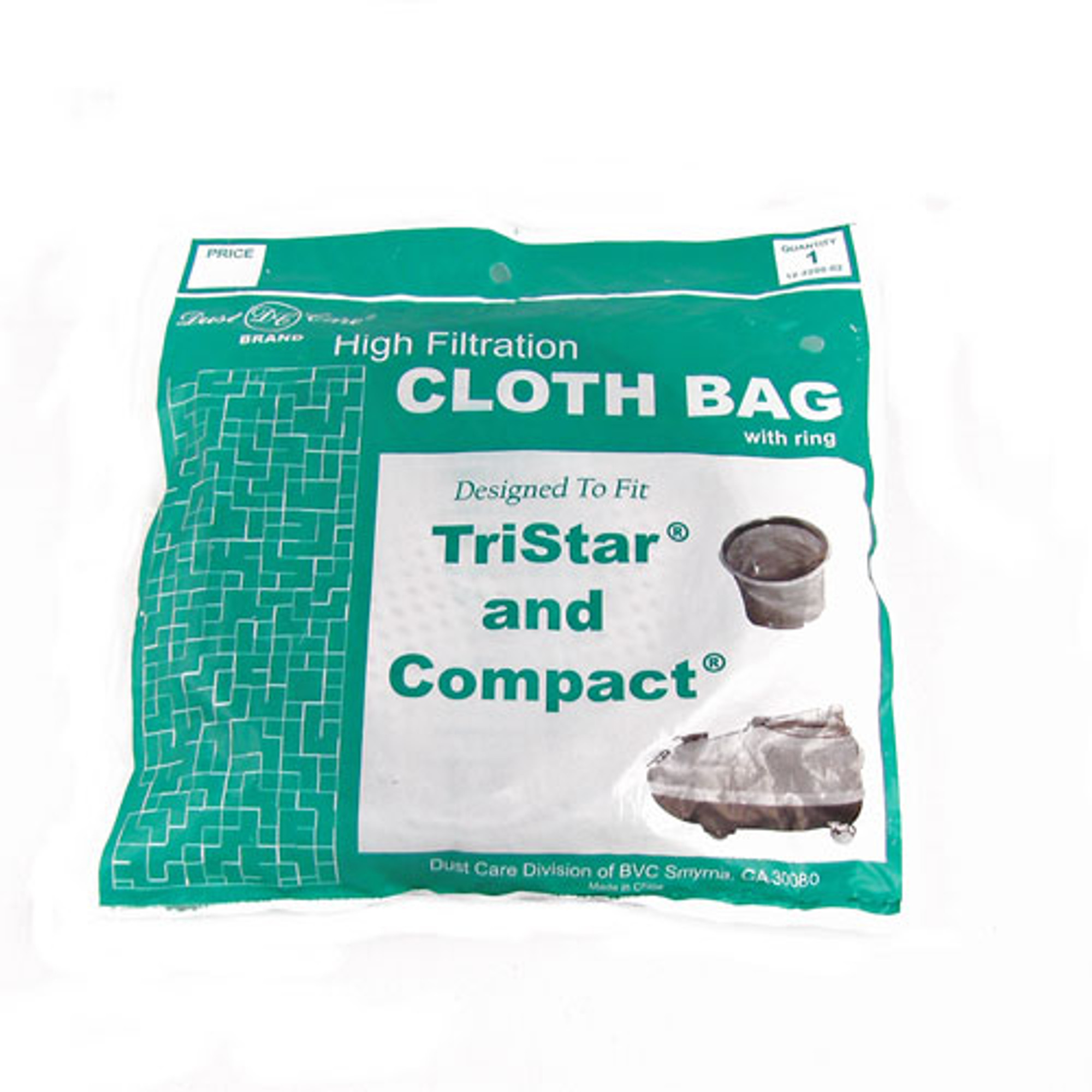 Buy Tristar Compact High Filtration Cloth Bag Filter With Ring 1pk From Canada At Mchardyvac Com