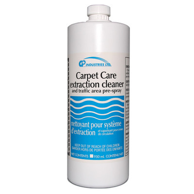 Carpet Care extractor solution