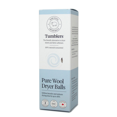 Pure Wool Dryer Balls - 3pk