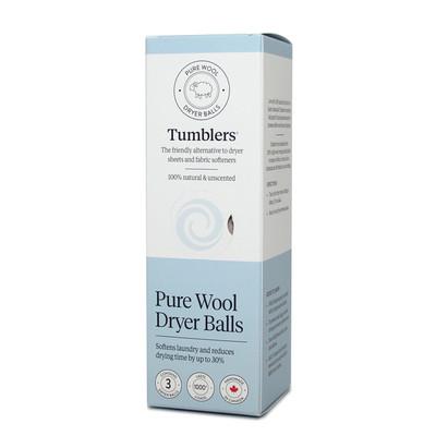 Pure Wool Dryer Balls - 3pk