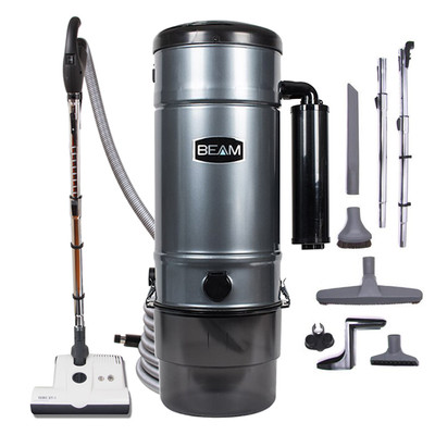 Beam SC398 with SEBO ET-1 central vacuum tool set.