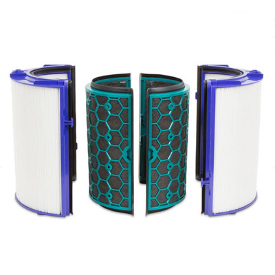 Dyson 2 piece air purifier filter. Contains both HEPA and carbon filters.