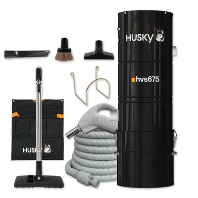 Husky Central Vacuum Bare Floor Kit - Large Home