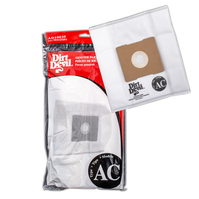 Dirt Devil AC Vacuum Bags - AD10035