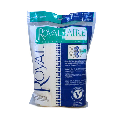 Dirt Devil and Royal Style V Vacuum Bags