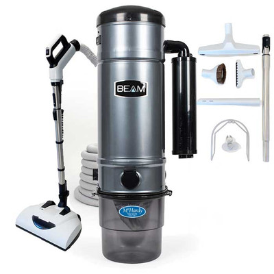 Beam SC375 Deluxe Central Vacuum All-Floors Package