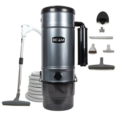 Beam SC398 with 060271 Deluxe Bare Floor central vacuum tool set.