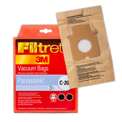 Panasonic style C20 Canister Vacuum Bags