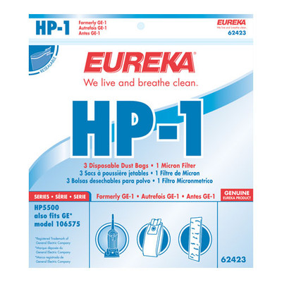 Eureka Style HP-1 Vacuum Bags