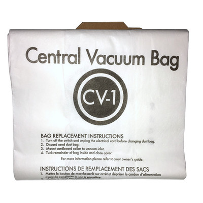 Eureka CV-1 Central Vacuum Cleaner Bags