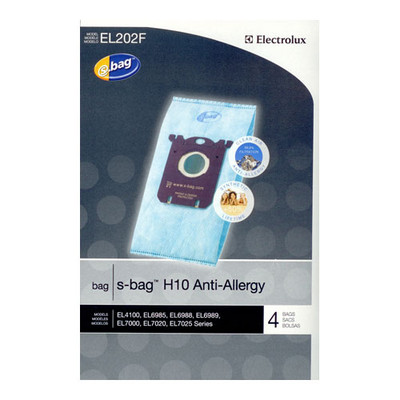 Electrolux S Bag H10 Anit-Allergy Vacuum Bags