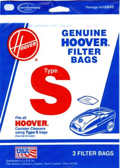 Hoover Type S Vacuum Bags