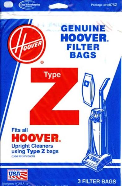 Hoover Type Z Vacuum Bags
