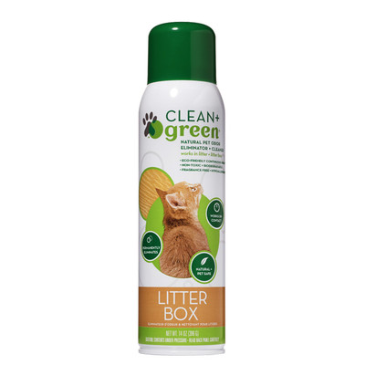Clean + Green Litter Box Refresher