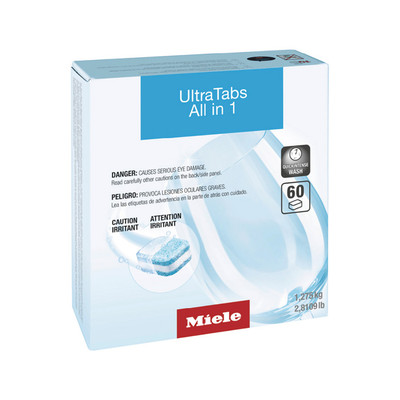 Miele UltraTabs - All In 1 - Dishwashing Detergent Tabs