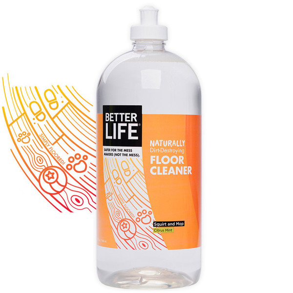 Buy Better Life All Natural Citrus Mint Floor Cleaner From