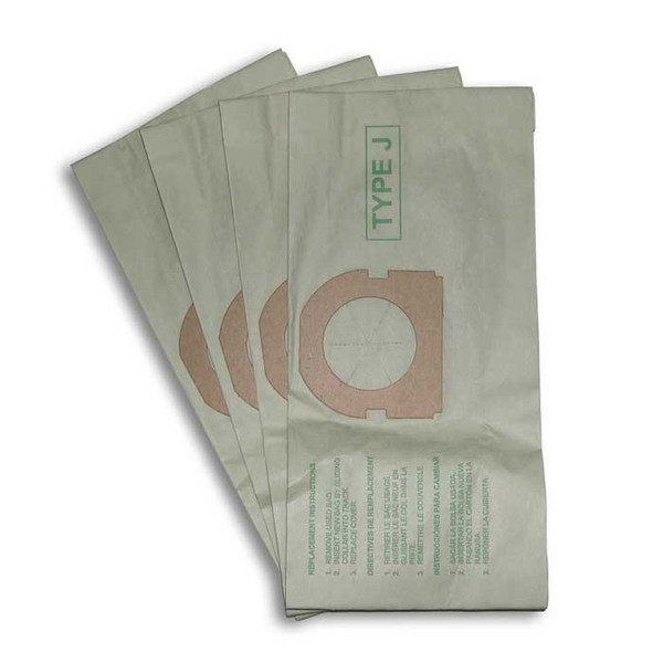 Buy Hoover Style J Canister Vacuum Cleaner Bags 4pk From