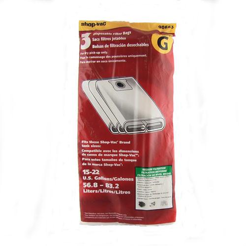 Buy Shop Vac 15 To 22 Gallon Type G Side Intake Medium