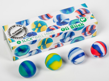 Oil Slick Ball Mini - 4 Pack