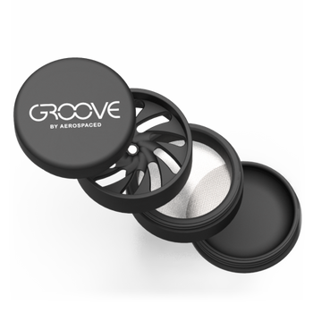 GROOVE BY AEROSPACED 4-PIECE GRINDER