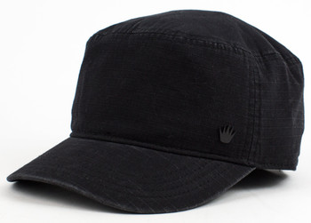 No Bad Ideas - Carter Ripstop Cadet Cap (Black)