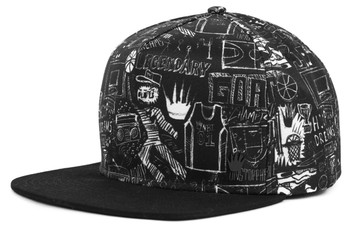 No Bad Ideas - Hoop Dreams Snapback Cap