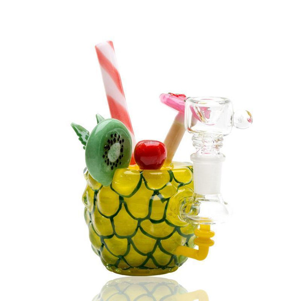 Empire Glassworks - Pineapple Paradise Mini Rig