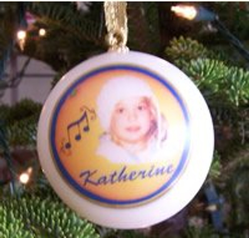 Great gifts for new baby, weddings, graduation, pets, memorial, achievement or to remember your special event. Unbreakable ornaments are a great idea if you have young children or pets. Customized with your special logo, image and full color text.