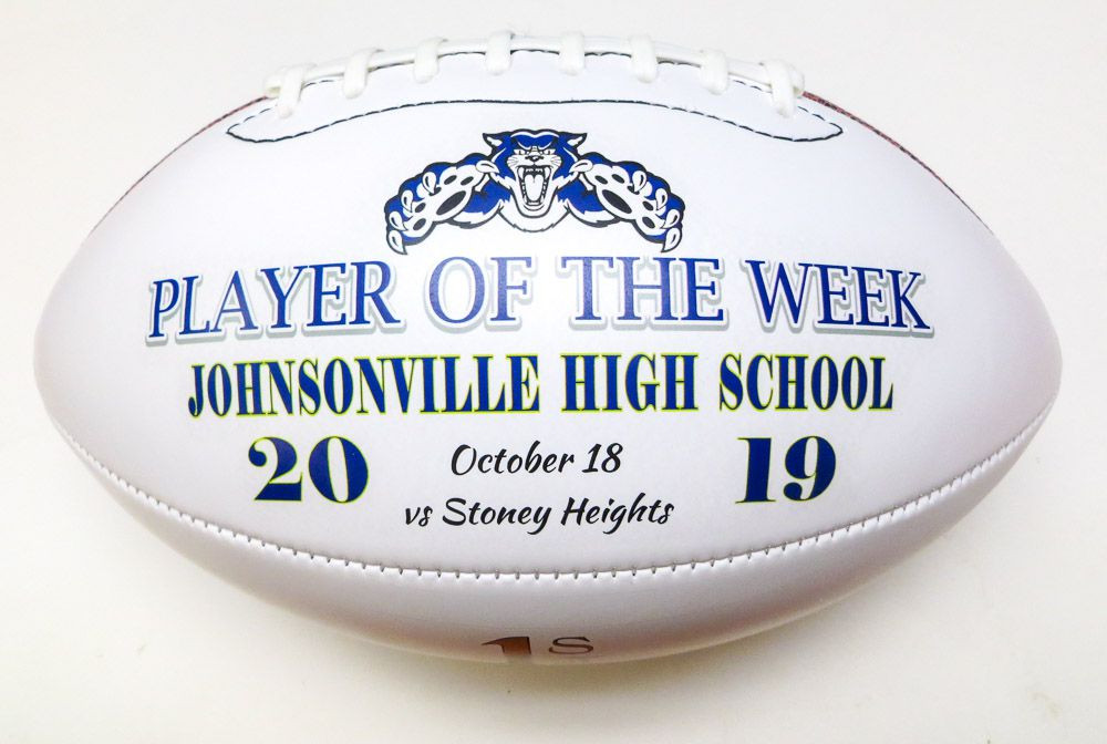 Players who go the extra mile deserve to be rewarded with a Player of the Game Football.